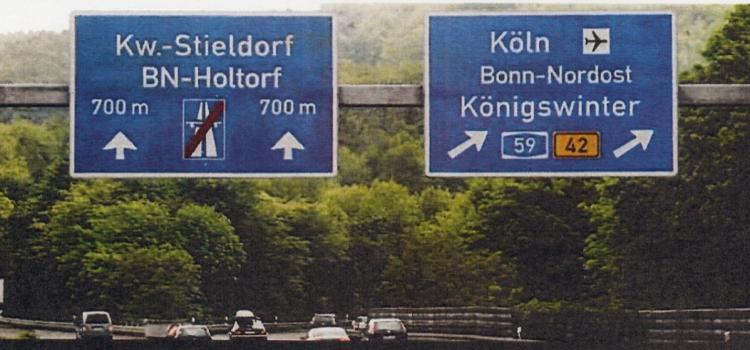 Verkehrssituation im Siebengebirge (Update)